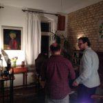 Beleuchtung besprechen für das Online Live Wohnkzimmerkonzert